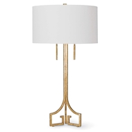 Regina Andrew Lighting Le Chic Table Lamp - Antique Gold Leaf