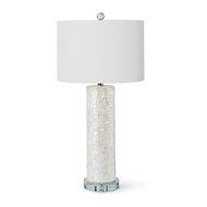 Regina Andrew Lighting Scalloped Capiz Table Lamp