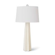 Regina Andrew Lighting Glass Star Table Lamp - White