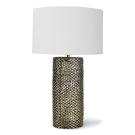 Regina Andrew Lighting Chain Link Table Lamp - Antique Brass