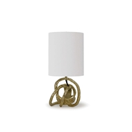 Regina Andrew Lighting Mini Knot Lamp - Soft Gold