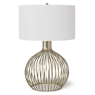 Regina Andrew Lighting Abby Table Lamp - Gold Leaf