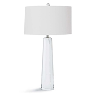 Regina Andrew Lighting Tapered Hex Crystal Table Lamp