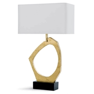 Regina Andrew Lighting Manhattan Table Lamp - Gold Leaf
