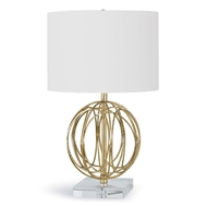 Regina Andrew Lighting Ofelia Table Lamp - Gold Leaf