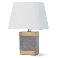 Regina Andrew Lighting Elliot Ceramic Shagreen Table Lamp