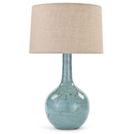 Regina Andrew Lighting Fluted Ceramic Table Lamp