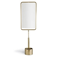 Regina Andrew Lighting Geo Rectangle Table Lamp - Natural Brass