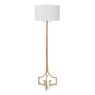 Regina Andrew Lighting Le Chic Floor Lamp - Antique Gold Leaf