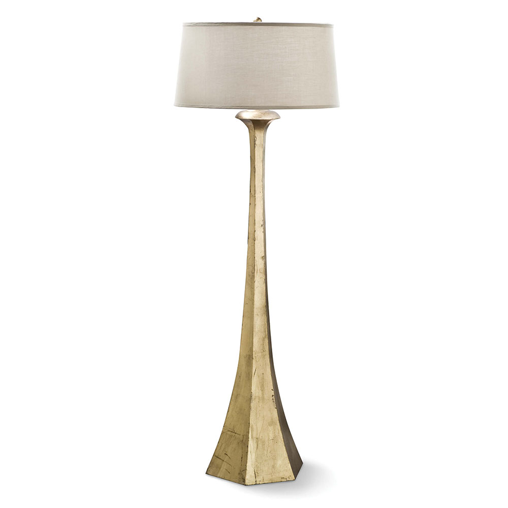 Regina Andrew Design Lighting Tapered Floor Lamp - Antique Gold Leaf ...