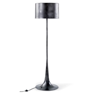 Regina Andrew Lighting Trilogy Floor Lamp - Black Iron