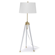 Regina Andrew Lighting Brigitte Floor Lamp - Natural Brass