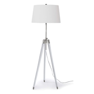 Regina Andrew Lighting Brigitte Floor Lamp - Polished Nickel