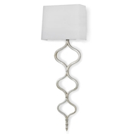 Regina Andrew Lighting Sinuous Sconce - Silver Leaf