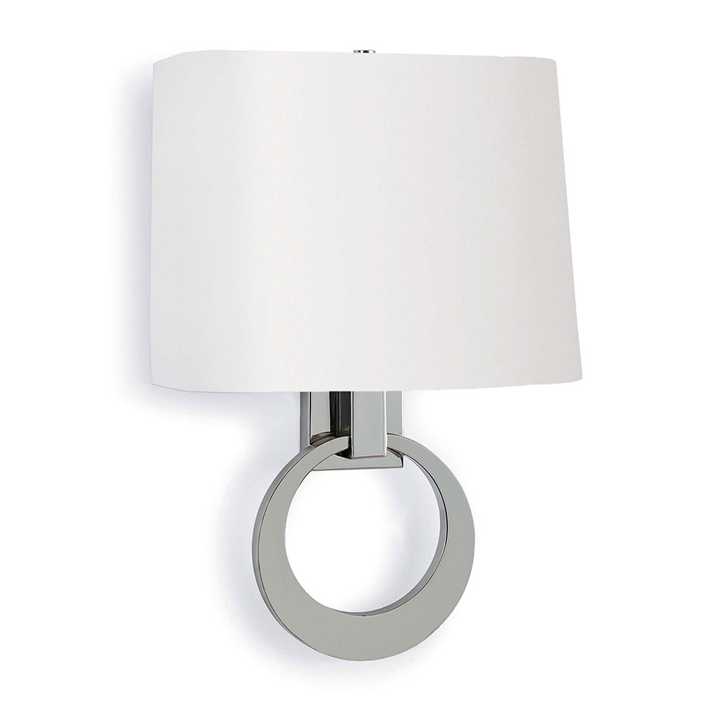 nickel bathroom light single polished leaman vanity sconce