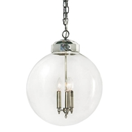 Regina Andrew Lighting Globe Pendant - Polished Nickel