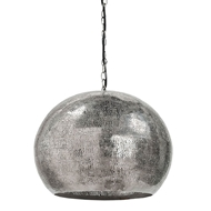Regina Andrew Lighting Pierced Metal Sphere Pendant - Polished Nickel