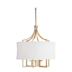Regina Andrew Lighting Le Chic Chandelier - Gold Leaf