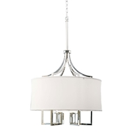 Regina Andrew Lighting Le Chic Chandelier - Polished Nickel