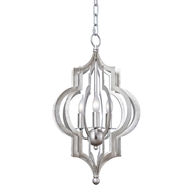 Regina Andrew Lighting Patternmakers Pendant Small - Silver