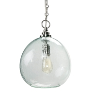 Regina Andrew Lighting Glass Float Pendant - Recycled Glass
