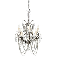 Regina Andrew Lighting Iron Butterfly Chandelier
