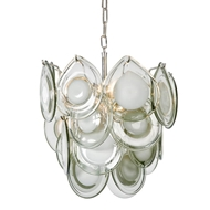 Regina Andrew Lighting Mini Diva Chandelier - Grey