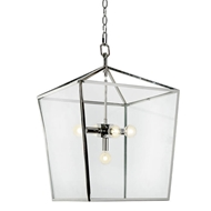 Regina Andrew Lighting Camden Lantern - Polished Nickel