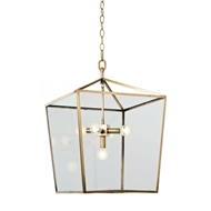 Regina Andrew Lighting Camden Lantern - Natural Brass