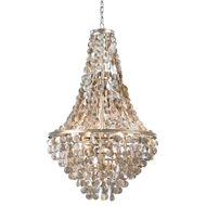 Regina Andrew Lighting Capri Abalone Shell Chandelier