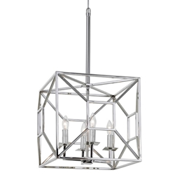 Regina Andrew Lighting Jules Lantern - Polished Nickel