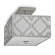 Regina Andrew Home Arabesque Flush Mount - Polished Nickel