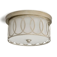 Regina Andrew Lighting Fusion Flush Mount - Silver Leaf