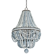 Regina Andrew Lighting Malibu Chandelier Weathered Blue