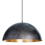 Regina Andrew Lighting Sigmund Pendant Large - Black & Gold
