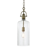Regina Andrew Lighting Bar Pendant - Natural Brass