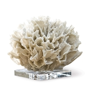 Regina Andrew Home Ribbon Coral - White