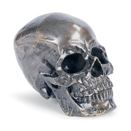 Regina Andrew Home Metal Skull - Antique Bronze