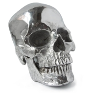 Regina Andrew Home Metal Skull - Polished Nickel