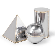 Regina Andrew Home Model Set - Steel & Brass