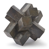 Regina Andrew Home Abstract Sculpture - Zinc