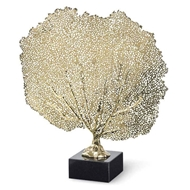Regina Andrew Home Metal Sea Fan - Polished Brass