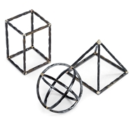 Regina Andrew Home Geo Shapes - Set of 3
