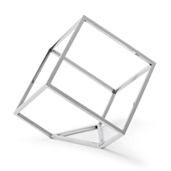 Regina Andrew Home Open Standing Cube - Nickel