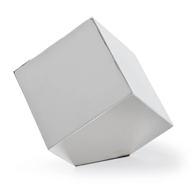Regina Andrew Home Closed Standing Cube - Nickel