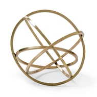 Regina Andrew Home Ellipse Table Top Accessory - Brass