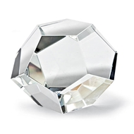 Regina Andrew Home Crystal Dodecahedron Small
