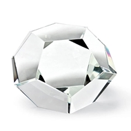 Regina Andrew Home Crystal Dodecahedron Large