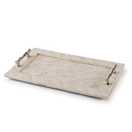 Regina Andrew Design Home Bone Tray With Bamboo Handles