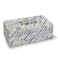 Regina Andrew Home Bone & Indigo Box Large